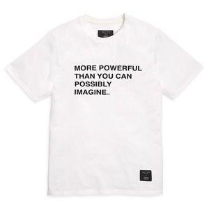 Rare NWT Rag & Bone Star Wars T-Shirt